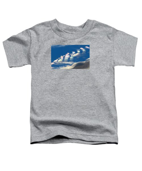 Iridescent Clouds 2 Toddler T-Shirt