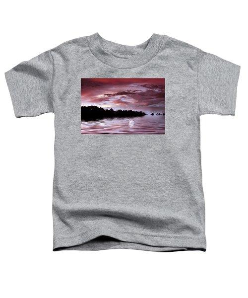 Sunset Swim Toddler T-Shirt