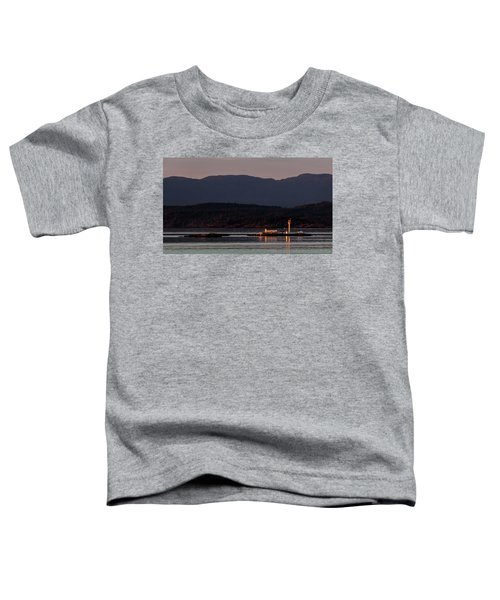 Isolated Lighthouse Toddler T-Shirt
