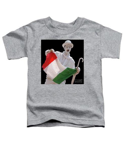 Italian Charlie Chaplin Toddler T-Shirt