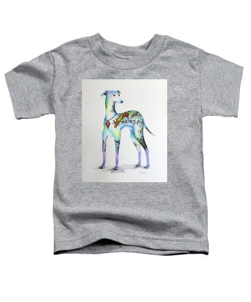 Italian Greyhound Tattoo Dog Toddler T-Shirt