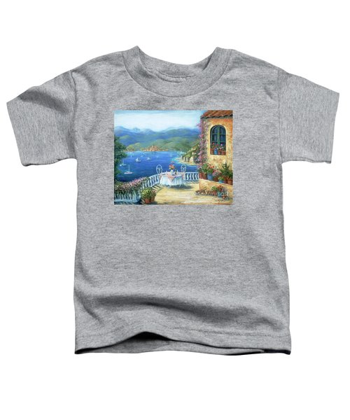 Italian Lunch On The Terrace Toddler T-Shirt