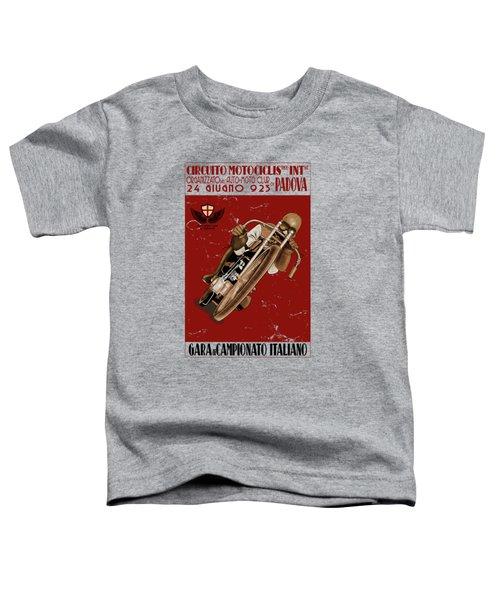 Italian Motorcycle Championship Race Toddler T-Shirt