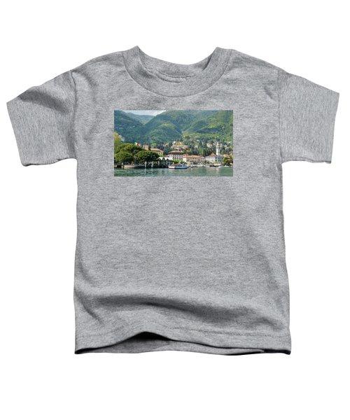 Italian Village On Lake Como Toddler T-Shirt
