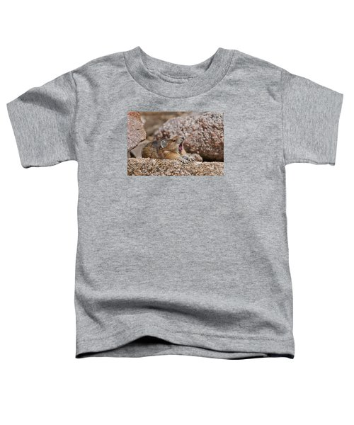 Toddler T-Shirt featuring the photograph It's Been A Long Day by Gary Lengyel