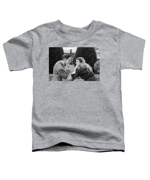 It's In The Eyes Bw Toddler T-Shirt