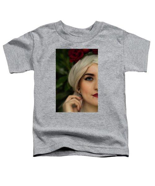 Jade Close Crop Toddler T-Shirt