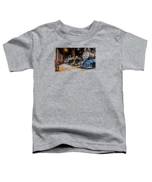 Jamestown Roundhouse Toddler T-Shirt