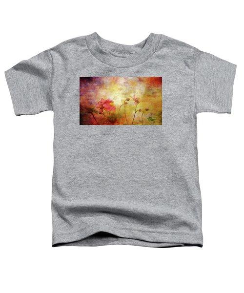 Japanese Anemone Landscape 3959 Idp_2 Toddler T-Shirt