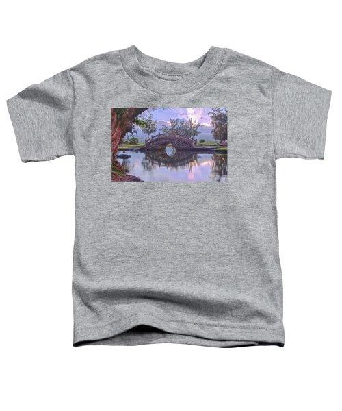Japanese Footbridge Toddler T-Shirt