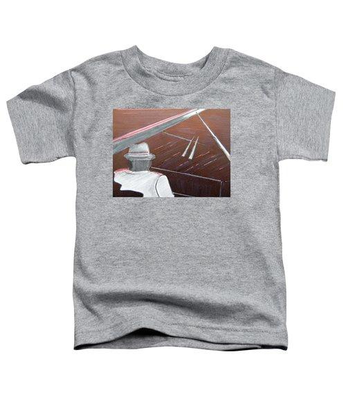 Jazz Pianist At The Brigantine Room Toddler T-Shirt