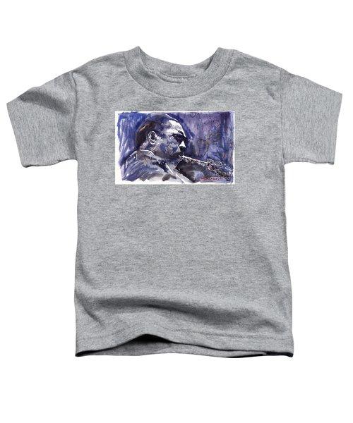 Jazz Saxophonist John Coltrane 01 Toddler T-Shirt