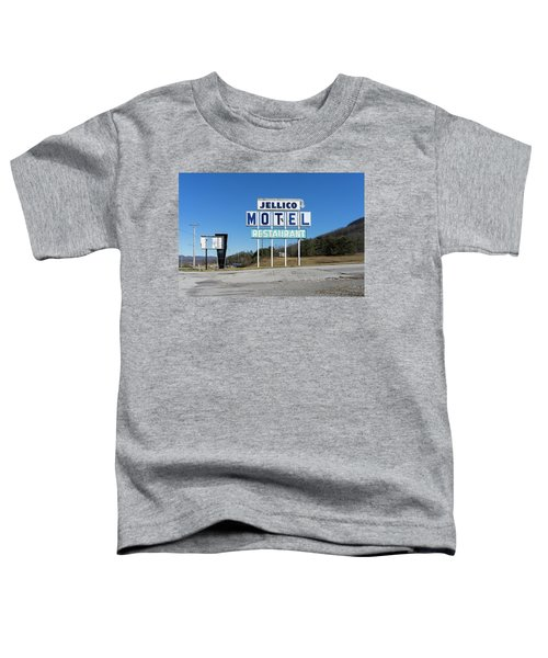 Jellico Motel Toddler T-Shirt