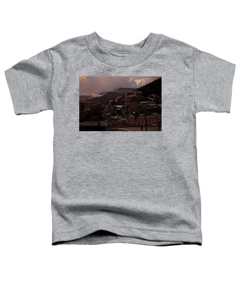 Jerome On The Edge Of Sunrise Toddler T-Shirt
