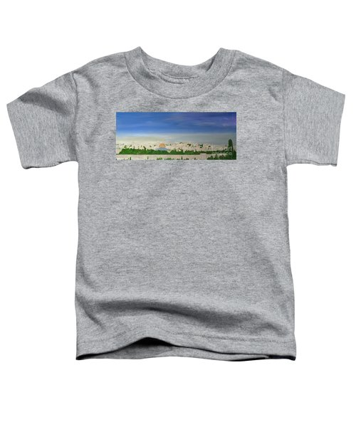 Jerusalem Skyline Toddler T-Shirt