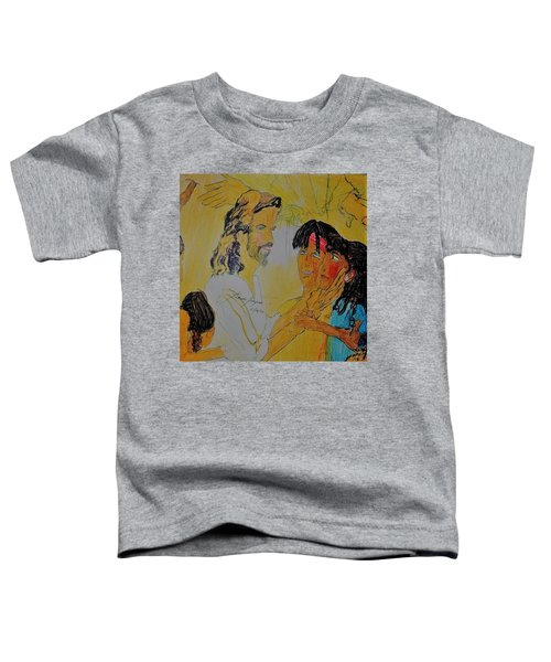 Jesus And The Children Toddler T-Shirt