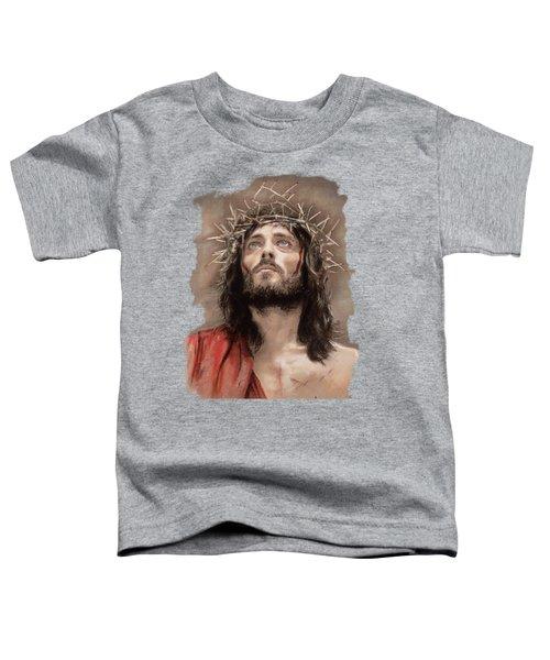 Jesus  Toddler T-Shirt by Melanie D