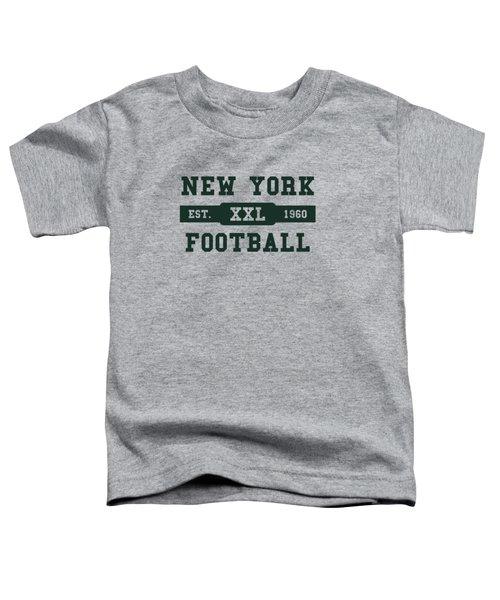 Jets Retro Shirt Toddler T-Shirt by Joe Hamilton