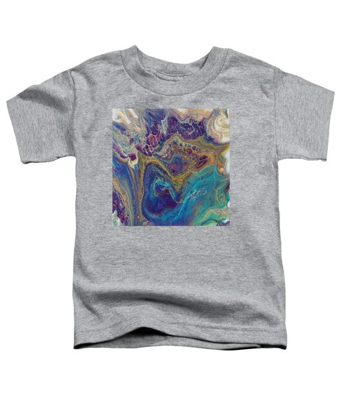 Toddler T-Shirt featuring the painting Jewel Case by Joanne Smoley