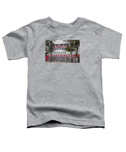 Joe Louis Arena And Trees Toddler T-Shirt