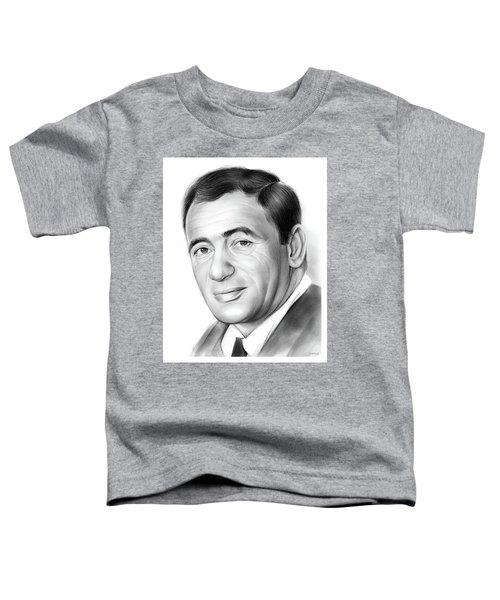 Joey Bishop Toddler T-Shirt by Greg Joens