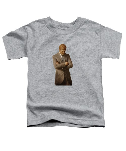 John F Kennedy Toddler T-Shirt by War Is Hell Store
