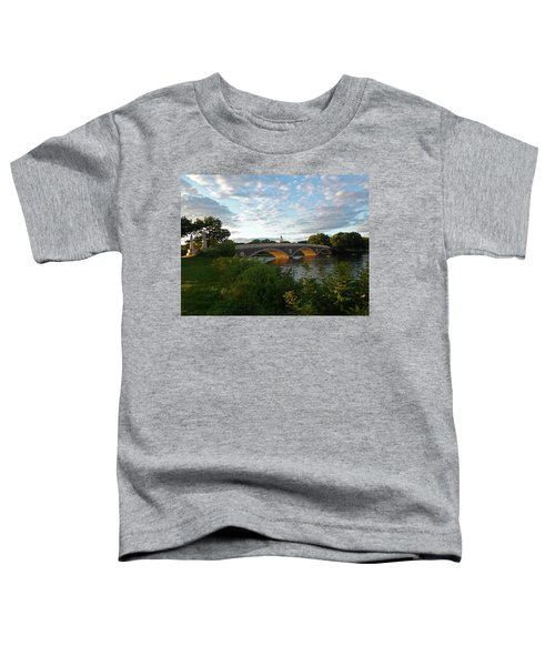 John Weeks Bridge In Harvard Square Cambridge Toddler T-Shirt