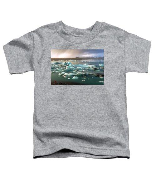 Jokulsarlon The Magnificent Glacier Lagoon, Iceland Toddler T-Shirt