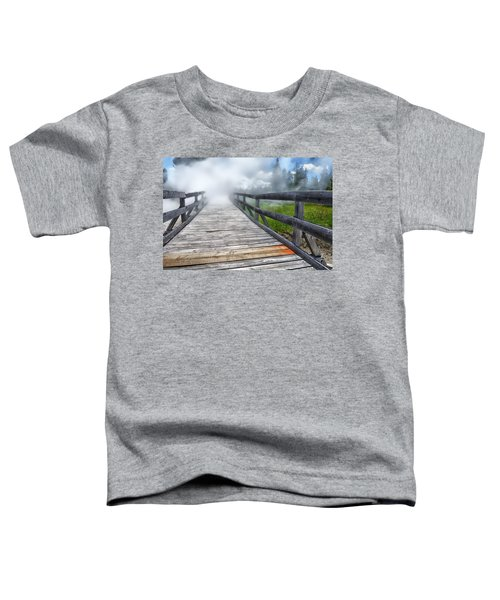 Journey Into The Unknown Toddler T-Shirt