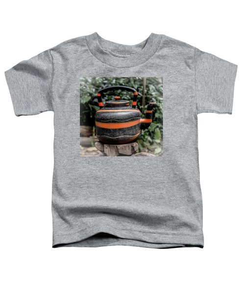 Jungle Tea Pot Toddler T-Shirt
