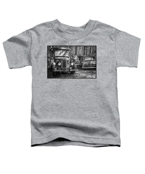 Junked Mack Truck Ad Old Plymouth Toddler T-Shirt