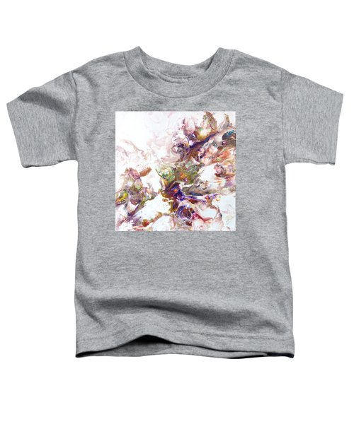 Toddler T-Shirt featuring the painting Kaleidescope Of Color by Joanne Smoley