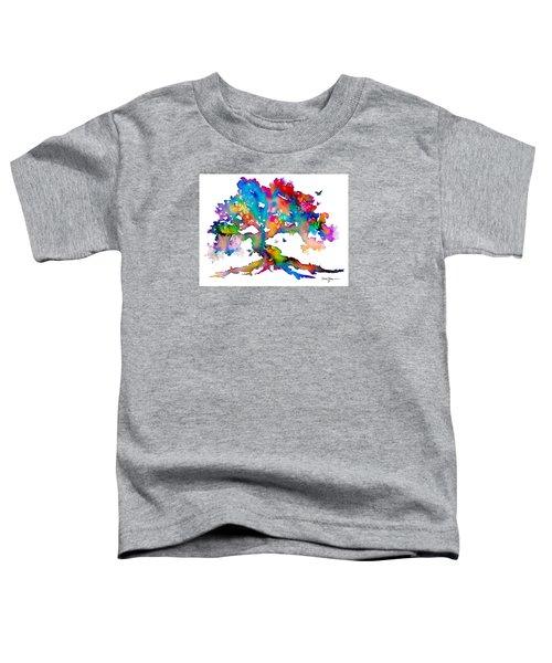 Da186 Kelly's Tree    Daniel Adams Toddler T-Shirt