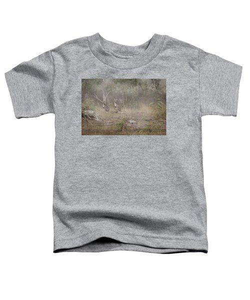 Kangaroos In The Mist Toddler T-Shirt
