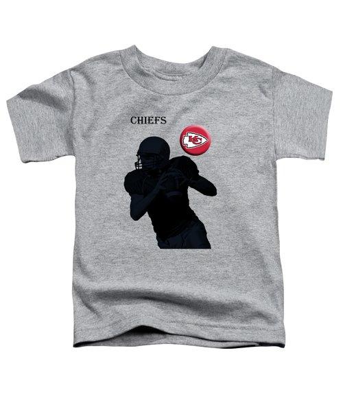 Kansas City Chiefs Football Toddler T-Shirt