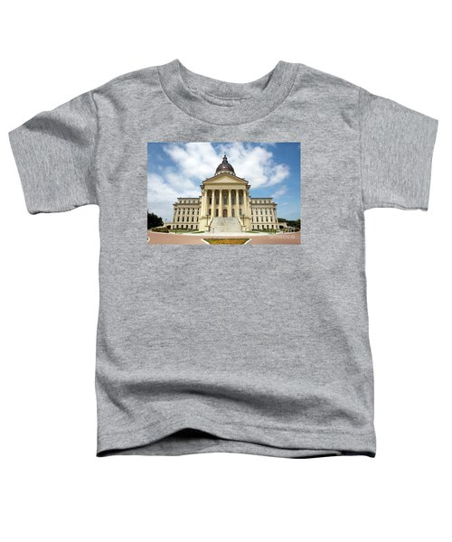 Kansas State Capitol Building Toddler T-Shirt