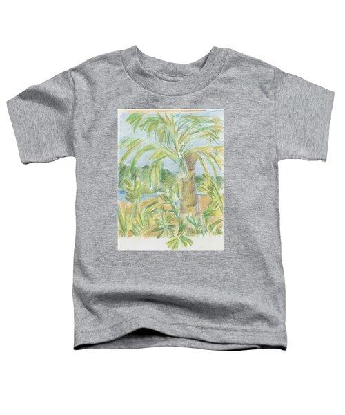 Kauai Palms Toddler T-Shirt