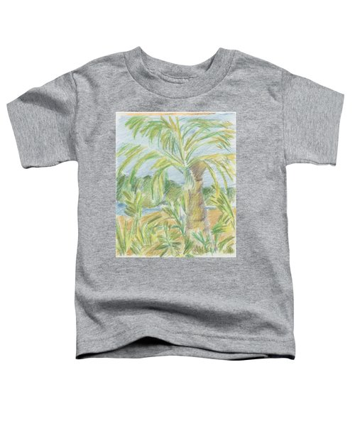 Kauai Palms Toddler T-Shirt