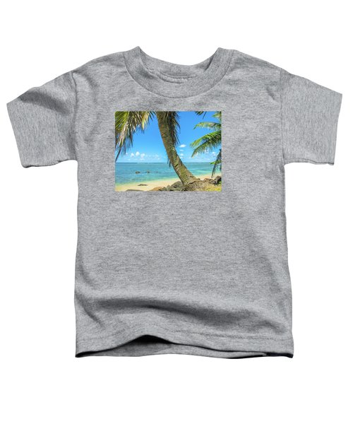 Kauai Tropical Beach Toddler T-Shirt