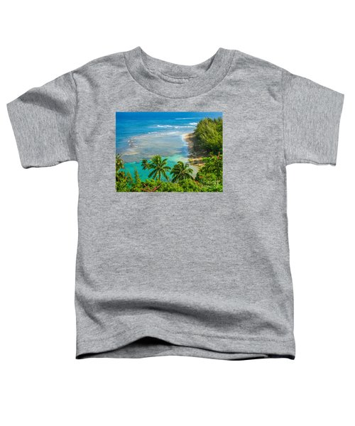 Kee Beach Kauai Toddler T-Shirt