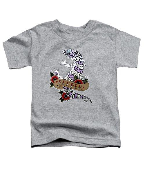 Keeper Leopard Gecko Toddler T-Shirt
