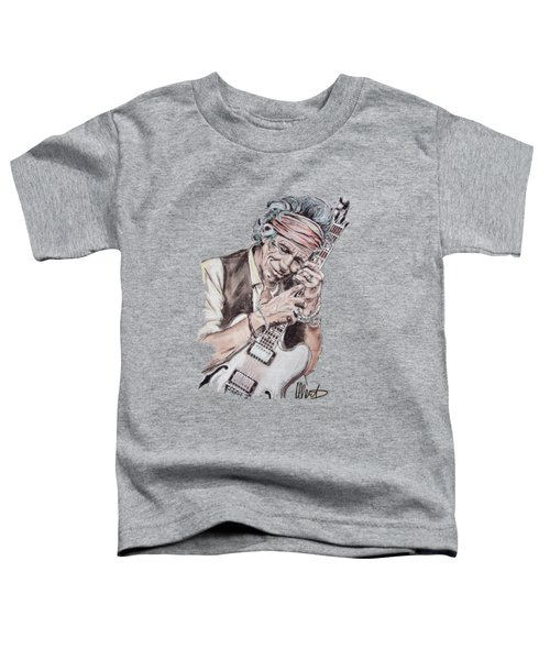 Keith Richards Toddler T-Shirt
