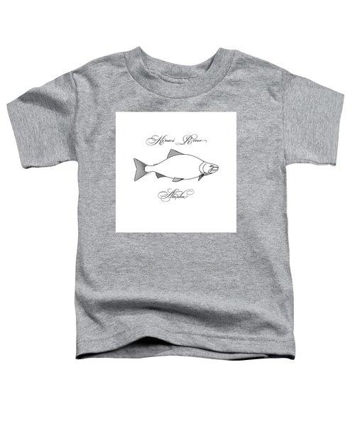 Kenai Sockeye Alaska Toddler T-Shirt
