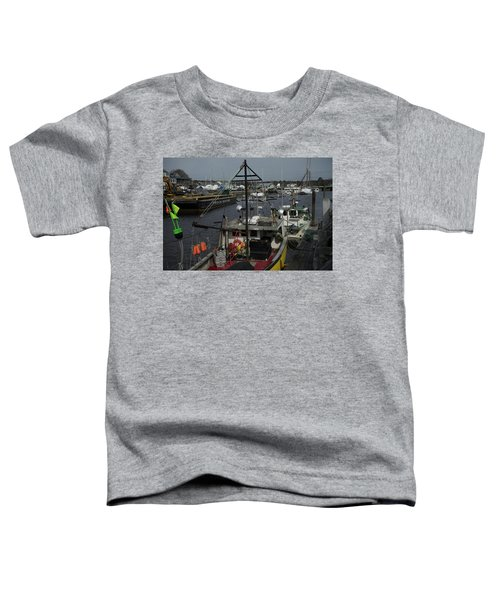 Kennebunkport Harbor In Early Winter Toddler T-Shirt