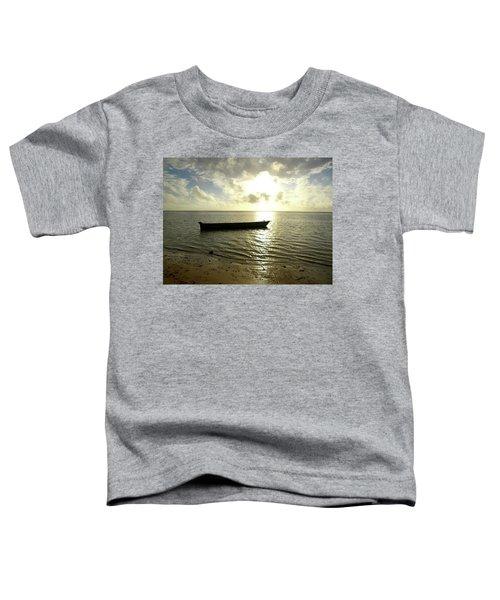 Kenyan Wooden Dhow At Sunrise Toddler T-Shirt