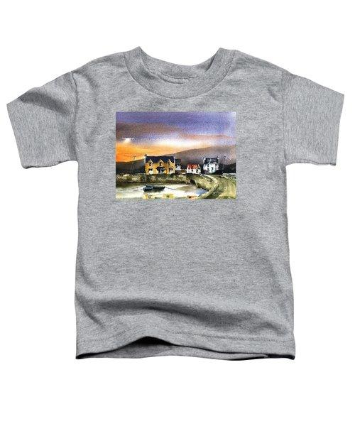 Kerry... Beara. Killmakilloge Harbour Toddler T-Shirt