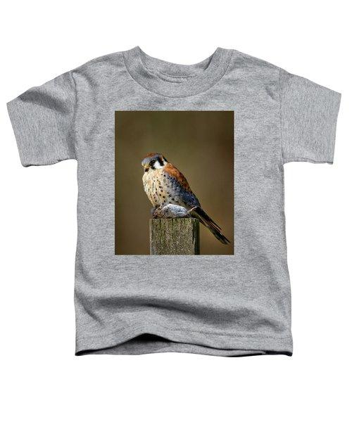 Kestrel With Prey Toddler T-Shirt
