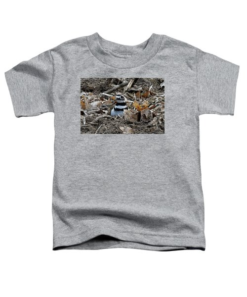 Killdeer On It's Nest 2682 Toddler T-Shirt