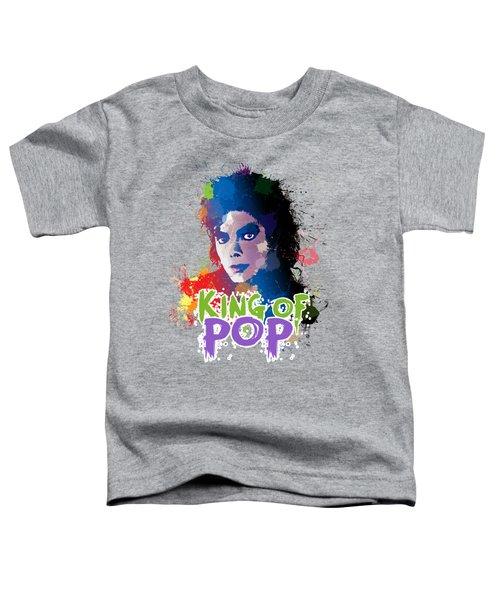 King Of Pop Toddler T-Shirt
