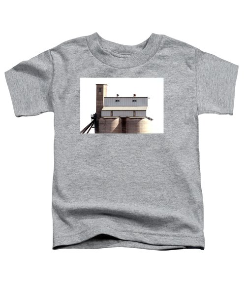 Toddler T-Shirt featuring the photograph Kingscote Skyrise by Stephen Mitchell